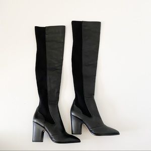 Sam Edelman Natasha black size 7 knee high boots